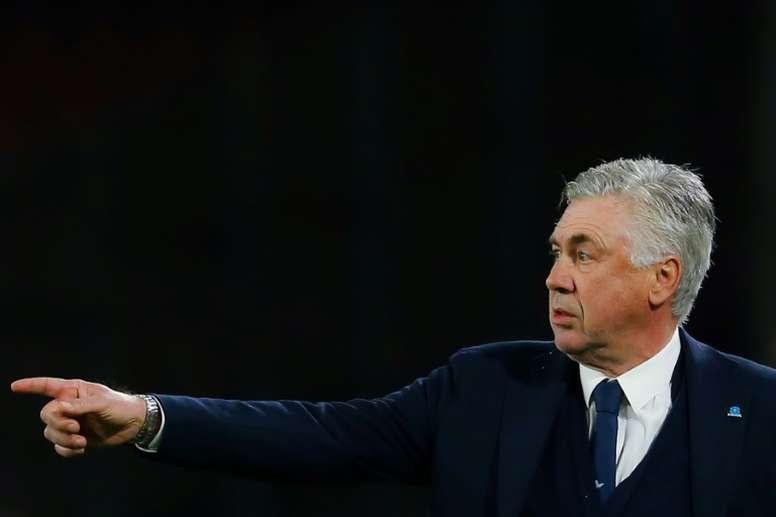 Naples à deux buts de retard face à Arsenal. AFP