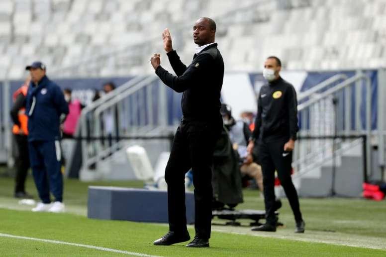 Vieira revient sur les attentats de Nice. AFP
