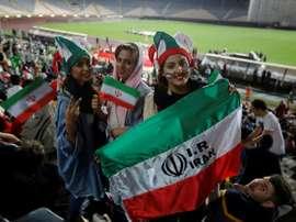 Des femmes iraniennes pourront voir assister au match au stade. AFP