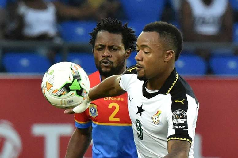 Ayew could be headed for Craven Cottage. AFP