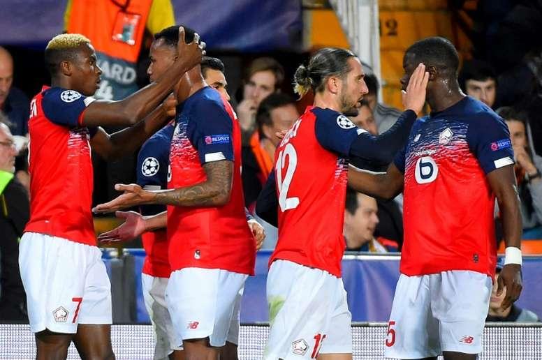 Les compos probables du match de Ligue 1 entre Lille et Metz. AFP