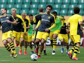 Les compos probables du match de Bundesliga entre Paderborn et Dortmund. AFP
