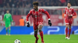 Coman is thought to be a target for Arsenal. AFP