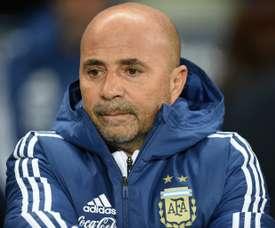L'ex sélectionneur de l'Argentine Jorge Sampaoli. AFP