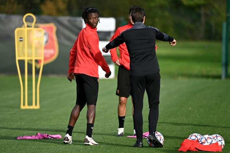 Camavinga estaría en la lista de deseos del Bayern. AFP