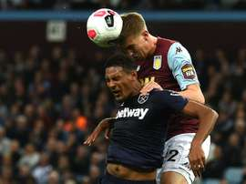 West Ham rate la bonne occasion à Aston Villa. AFP