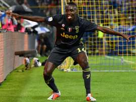 Matuidi scored in Juve's 1-2 victory away at Parma. AFP