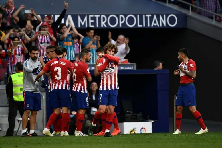 A new era for Atletico Madrid. AFP