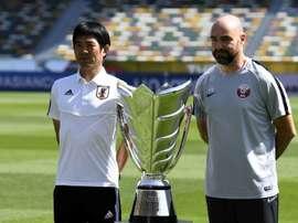 Voici les compos probables Japon-Qatar. AFP