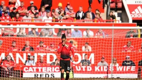 United have never scored against Villarreal. AFP