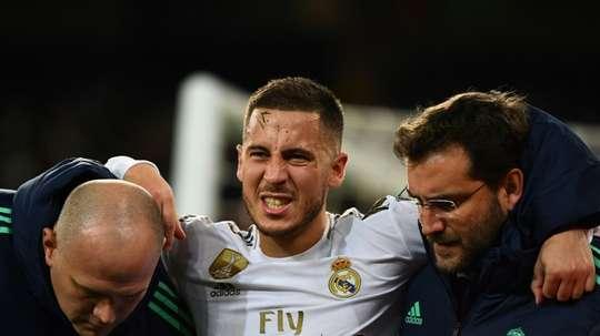 Hazard to miss Madrid derby. AFP