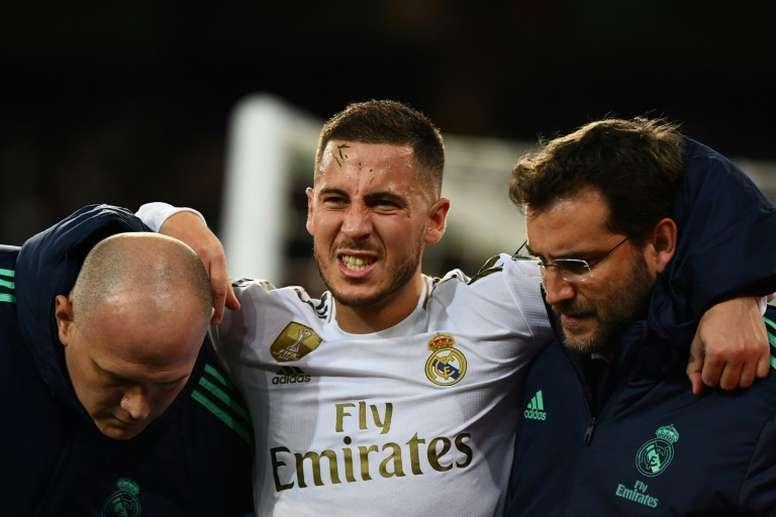 L'infirmerie du Real Madrid avant le Clasico. AFP