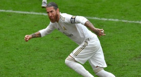 Sergio Ramos: 10 goals, 9 points... And the LaLiga title? AFP