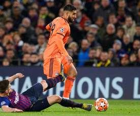 Fekir poderá rumar a Liverpool no verão. AFP