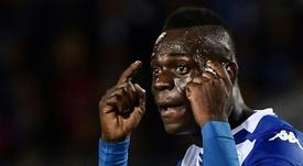Balotelli, la última víctima del racismo. AFP