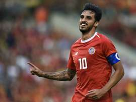 Bryan Ruiz probará fuerte en Brasil. AFP