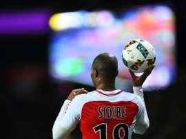 El Atlético habría hecho una primera oferta por Sidibé al Mónaco. AFP