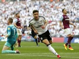 O Fulham vai jogar a Premier League 2018/19. AFP