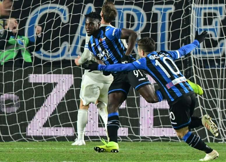 Zapata, objetivo prioritario del Inter de Milán. AFP