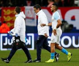 Payet est blessé. AFP