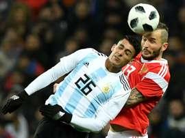 Cristian Pavón jouera le Mondial. AFP
