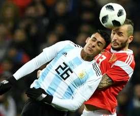 Cristian Pavón jugará el Mundial. AFP