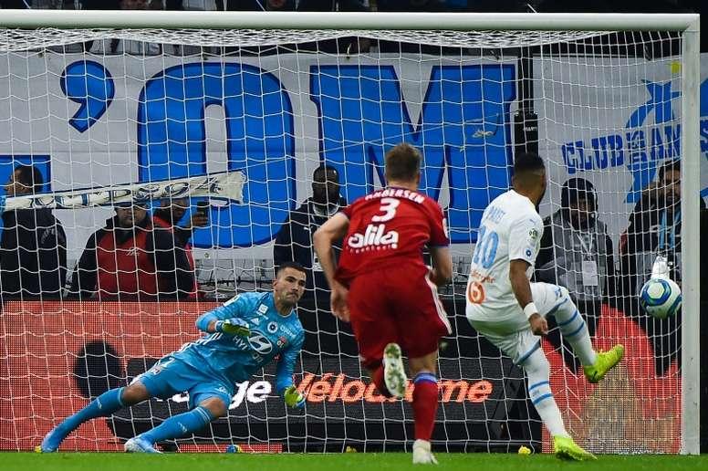 Le penalty aurait dû être annulé. AFP