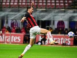 L'AC Milan abandonne ses premiers points face la Roma. afp
