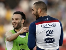 Le parquet de Versailles demande un procès pour Benzema. AFP
