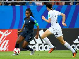 Katoto, l'espoir de la France féminine. AFP