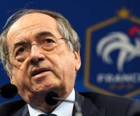Le Graët candidat à la présidence de la FFF. AFP