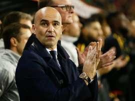 Roberto Martinez veut être fixé avant juin sur un nouveau contrat. AFP