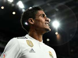 Varane announces he is staying at Real Madrid. AFP