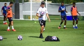 Lyon veut croire en ses chances face à Manchester City. AFP