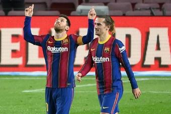 Leo Messi peut battre deux records contre le Cadix CF demain. AFP