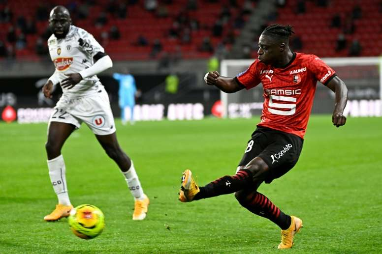 Angers l'emporte à Rennes. AFP