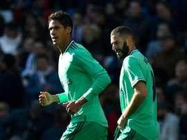 Le groupe du Real Madrid pour affronter Bruges en Ligue des Champions. AFP