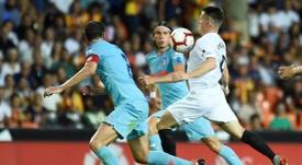 Valence et l'Atlético de Madrid se sont neutralisés. AFP