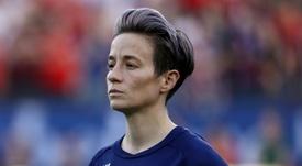 Les championnes du monde américaines défaites sur le terrain salarial. AFP