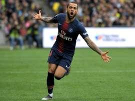 Début d'entente concernant la prolongation d'Alves. AFP