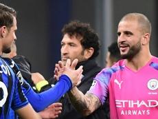Manchester City finit sans gardien et sans qualification. AFP