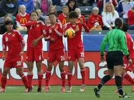 La sélection féminine de Chine placée en quarantaine en Australie. AFP