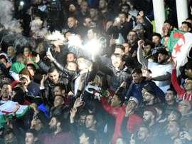 Le Graët pense qu'un France-Algérie est quasiment impossible en 2020. AFP