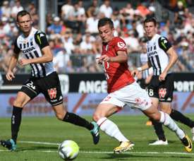 De Preville has joined Bordeaux from Lille. AFP
