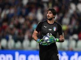 Perin, a punto de dejar la Juventus. AFP