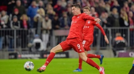 Bayern dealt blow as Lewandowski suffers knee injury. AFP