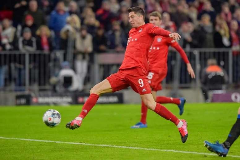 À quatre jours de la C1, le Bayern l'emporte de justesse face à la lanterne rouge Paderborn. AFP