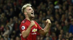 Manchester United Luke Shaw. AFP