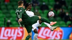 El Krasnodar, a la Europa League. AFP