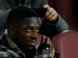 Um possível empréstimo de Dembélé 'no estilo Coutinho'. AFP